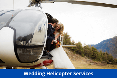 Wedding Helicopter Service Provider